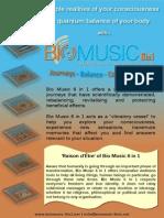 1. Bio Music 6 in 1 Brochure