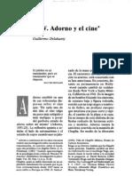 Adorno y El Cine