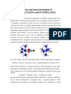 coordination complexes of cobalt advanced inorganic Optical isomerism is common in octahedral  3 diammine dichloro ehylenediamine cobalt 3 ion complexes containing  bonding in coordination.