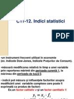 C11-12. Indici statistici