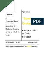 Concerto Sons Orofaciais -Henk Van Twillert e Vento Do Norte