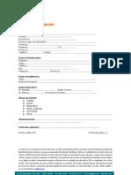 Ficha de Inscripcion Particular