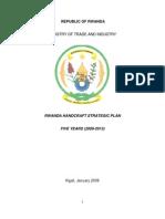 Handcraft Strategic Plan Adopted 2009