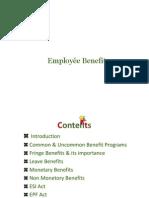 Employée Benefits