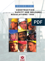 Construction Health Safety and Welfare Regs