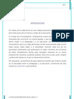 Monografia Educacion Peruana en La Primera Mitad Del Siglo Xx