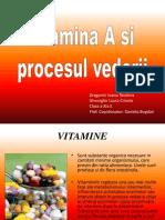 Chimie Vitamina A