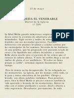 San Beda El Venerable M