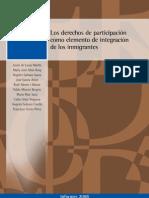 Los Derechos de Participacion Como Elemento de Integracion de Los Inmigrantes