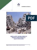 Mitigación De Desastres en Instituciones Publicas