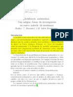 Lectura modelacion matematica