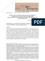 Género y usos de drogas.. dimensiones de análisis e intersección con otros ejes de desigualdad