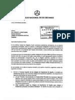 Carta Ex Decanos 2013