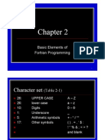 Chapter 2:Basic Elements of Fortran Programming