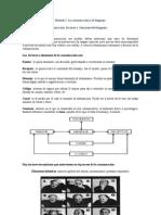 Módulo I  Factores y funciones del lenguaje