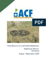 ACF Karamoja FS Assessment Report Final