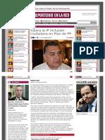 23-05-2013 Valora la IP inclusión ciudadana en Plan de PP