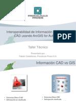 ArcGIS for Autocad- Viernes 26