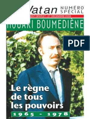 BOUMEDIENE TÉLÉCHARGER DISCOURS GRATUITEMENT HOUARI