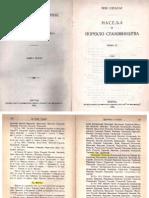 Naselja i poreklo stanovništva, Knjiga 23, Dubrovnik i okolina (Jovan Cvijić / Ilija Sindik) – 1926