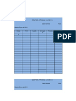 Evidencia de Aprendizaje Unidad 2 Contabilidad Registro de Operaciones y Control de Mercancias