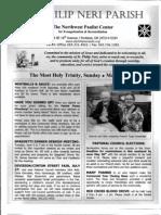 Bulletin for May 25-26-2013