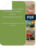Western Regional Action Plan - National Cohesive Wildland Fire Management Strategy