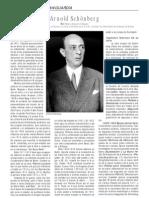 Arnold Schoenberg, Por Pedro Navarro Ruano