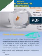 Legal Issues for Entrepreneur.pptx Final