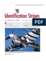 Painting Model Identification Stripes
