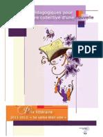 Prix Litt Guide Pedagogique 2012