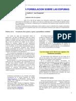 Formacion de Espumas, Aerosoles y Emulsiones