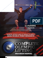 Will Fleming Olympic Lifting Book