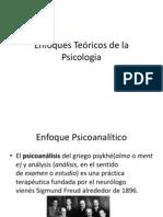 Enfoques Teóricos de la Psicologia