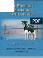 Sale Catalog - Woodcrest Bridge to Excellence