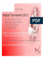 LSE Tournament Flyer