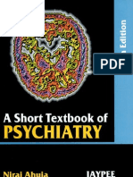 A Short Text Book of Psychiatry by Niraj Ahuja