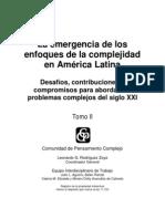 LibroColectivo La Emergencia de Los Enfoques de La Complejidad Tomo 2