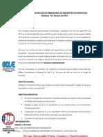 Convocatoria Escuela Interregional de Dirigentes Estudiantiles