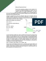 Resolución gráfica de un problema de Programación Lineal