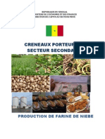Production de farine de niébé