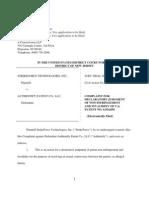 Strikeforce Technologies v. Authentify Patent