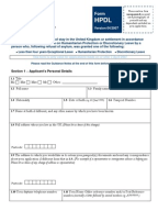 Form Set Protection Route Uk Border Agency The Home Office