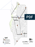 Map of Bike Lanes in Adams Morgan (2013)
