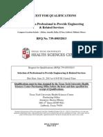 Tt Health Sciences Center Proposal