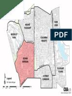 Map of Neighborhoods in Adams Morgan (2013)