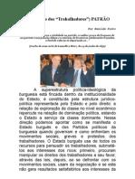 O PT patrãoESVALE.doc