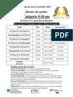 Cédule 9-10 ans st-victor1 2013