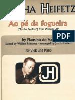 Ao Pe Da Fogueira Flausino do Vale Viola & Piano