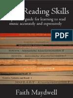 Piano, Sight Reading Skills